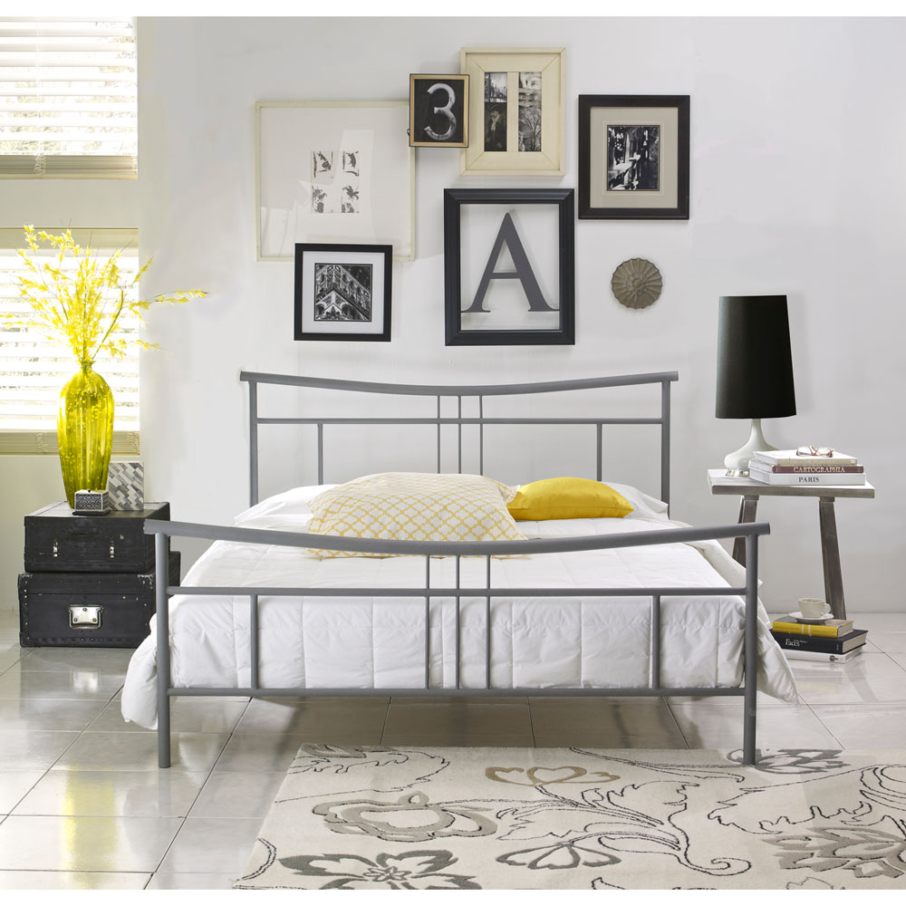 Cool Metal Bed Frames hanover hbedchel-fl chelsea full metal bed frame, cool running air