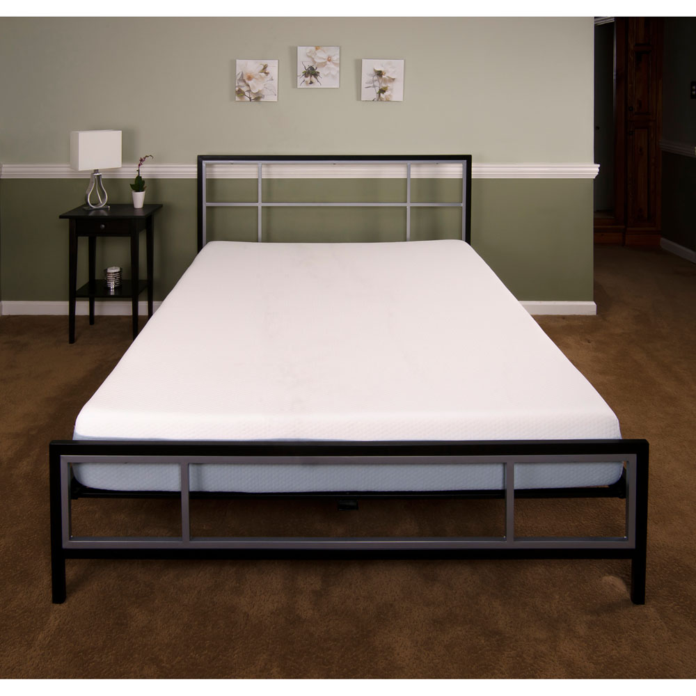 Hanover Hbedlinc Qn Lincoln Square Queen Metal Bed Frame Cool