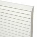 LG AYAGPLC01 PTAC White Polymer Exterior Wall Sleeve Grille