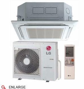 lg lc187hv single zone ductless mini split with inverter heat pump cool running air. Black Bedroom Furniture Sets. Home Design Ideas