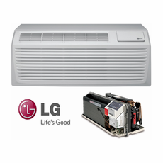 LG LP093HDUC1 PTAC Air Conditioner with Heat Pump, 9.500 BTU'S, 230/208 Volt, EER Rating of 12.9, GoldFin Protection, Power Cords, Wall Sleeves and Grilles Needed for New Installations Sold Separately