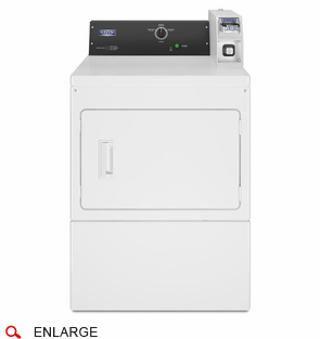 Maytag MDE20CSAYW Electric Single Dryer, 240 Volt, 60 Cycle, Mechanical Timer, Coin Acceptors Sold Separately, Usually Built to Order, If Built 4-Week Lead Time