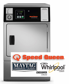Speed Queen Commercial Laundry, COIN DROP INSTALLED
