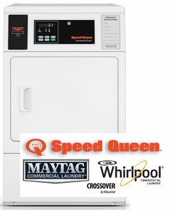 Speed Queen Commercial Laundry, PREP FOR CARD READER
