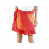 55 Diesel Cotton Medium Skirt - Orange
