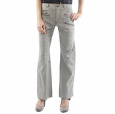 55 DSL Diesel Cotton Pants - Gray