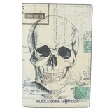 Alexander McQueen Letters from India Wallet - White