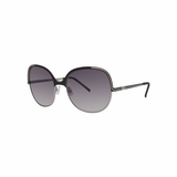 Authentic Chloe 2244 C01 Grey Gradient Sunglasses with Case - Black