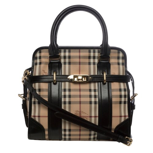 black burberry handbag