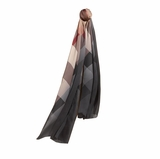 Burberry Ombre Check Silk Scarf
