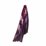 Burberry Ombre Check Silk Scarf - Plum
