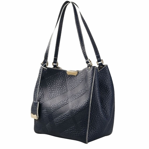 Authentic Burberry Small Canter In Bonded Leather Tote Bag - Black at  Modaqueen.com a53cbeb004