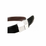 Calvin Klein Italian Leather Belt CK105 - Black