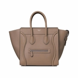 Celine Mini Luggage Handbag - Beige