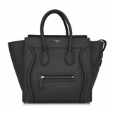 Celine Mini Luggage Handbag - Black