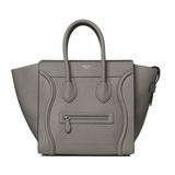 Celine Mini Luggage Handbag - Taupe