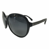 Chanel Chain Sunglasses - Black