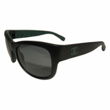 Chanel Rectangular Green Sunglasses - Matte Black
