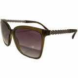 Chanel Square Sunglasses - Brown