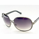 Chloe 2106 CO2 Tamaris Aviator Purple Plum Sunglasses - Black