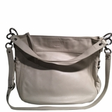 Coach Leather Crossbody Shoulder Bag - White