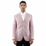 Corneliani 3 Button Cotton Blazer Sport Coat - Red White