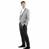 Corneliani 3-Piece Suit - Gray Black