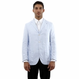 Corneliani Blazer Cotton Jacket - Light Blue