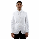 Corneliani Blazer Cotton Jacket - White