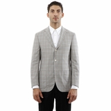 Corneliani Blazer Jacket Brown/Light Blue