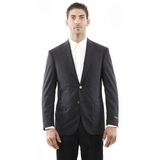 Corneliani Blazer Linen Jacket - Black