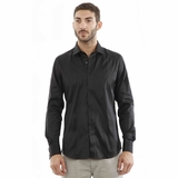 Corneliani CC Silk Shirt - Black