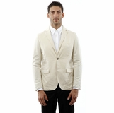 Corneliani Cotton Blazer - Beige