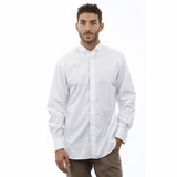 Corneliani Stripe Cotton Shirt - White