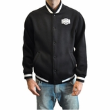 Crooks & Castles Mens Baseball Jacket - Black