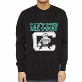 Crooks & Castles Mens Mugger Crewneck Sweatshirt - Black