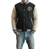 Crooks & Castles Mens Stadium Jacket - Blue