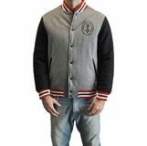 Crooks & Castles Mens Stadium Jacket - Grey