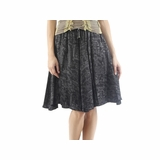 Diesel Knee Length Skirt - Black