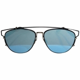 Dior Blue Mirrored Technologic Sunglasses - Blue