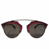 Dior So Real Sunglasses - Burgundy/Red