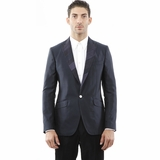 Dolce and Gabbana Blazer Cotton Navy Blue Jacket