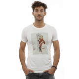 Dolce and Gabbana Graphic White cotton T-shirt