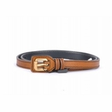 Dolce & Gabbana 90Cm Leather Belt Brown