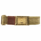 Dolce & Gabbana Cotton Belt - Army Green