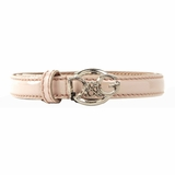 Dolce & Gabbana Enamel Leather Belt - Pink