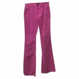 Dolce & Gabbana Light Wash Boot Cut Jeans - Pink
