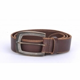 Dolce & Gabbana Men's Antique Leather Belt Brown