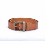 Dolce & Gabbana Vintage Leather Belt Brown