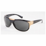 Dolce & Gabbanna DG Sunglasses DG6022 501/87 with Gold - Black